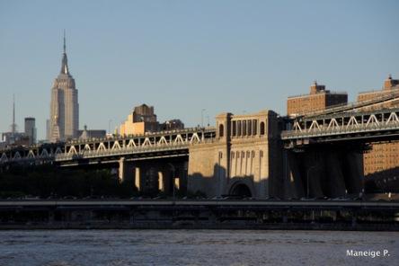 Manhattan's skyline