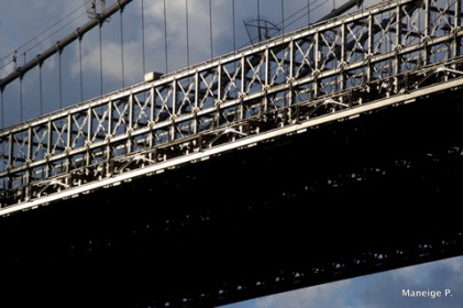 Focus on the bridge