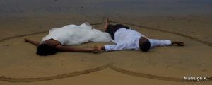 GG & Onee sur le sable