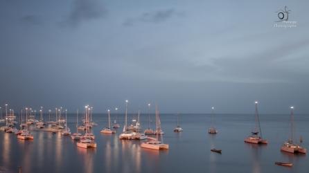 Sailboats in Martinique